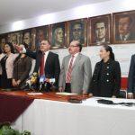 Hugo Contreras presidente de partido y coordinador de los diputados del PRI