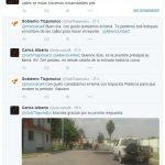Alberto Uribe, atiende reporte ciudadano en twitter