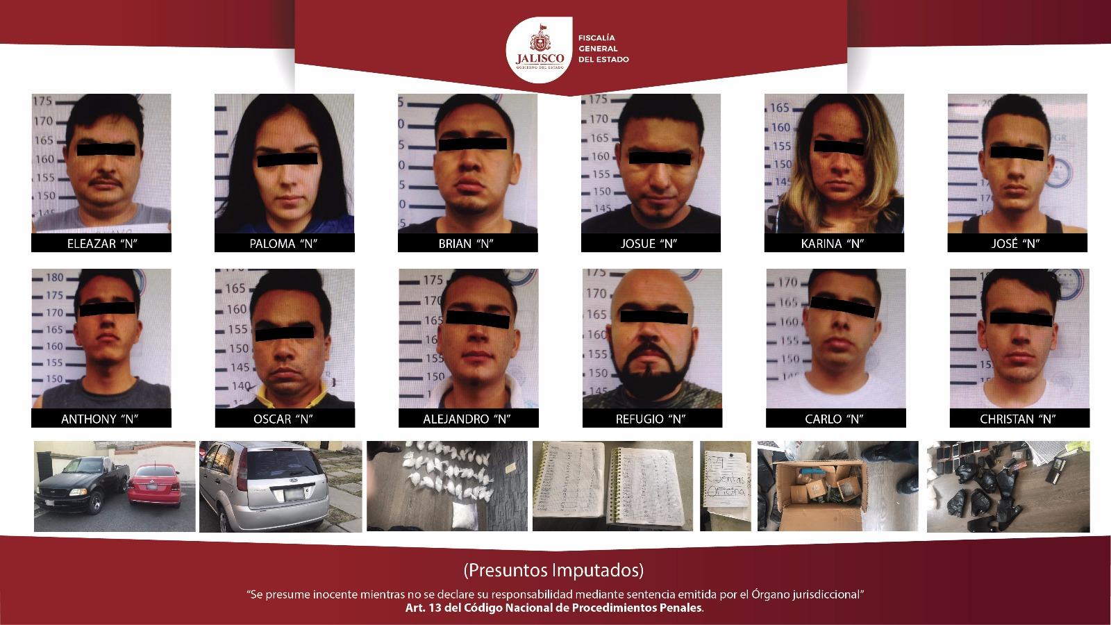 Narcomenudistas en Tonalá; Fiscalía los detiene