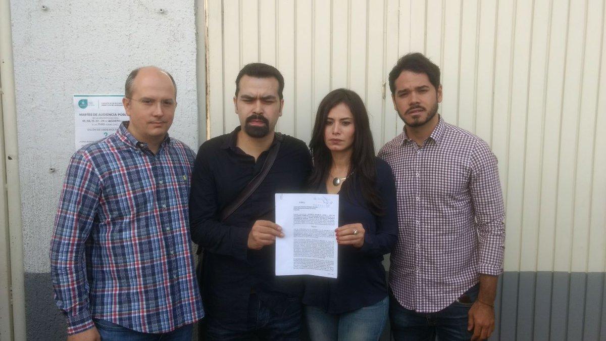 Diputados de MC denuncian negocio de fotomultas ante Fiscalía General