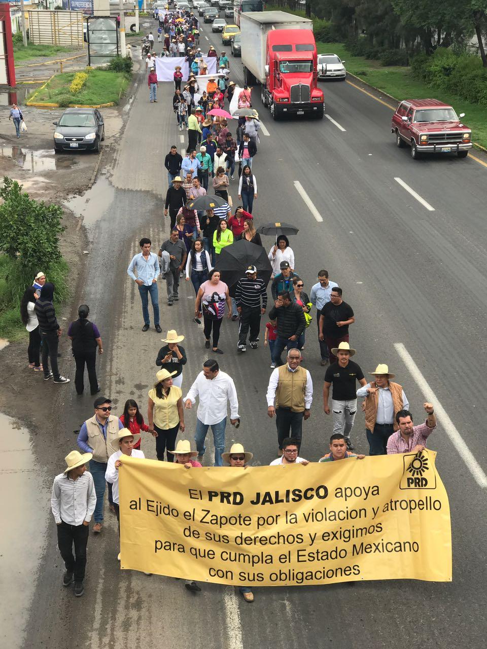 PRD Jalisco continúa en la defensa del Ejido El Zapote