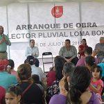 Colector Loma Bonita, podría terminar con inundaciones