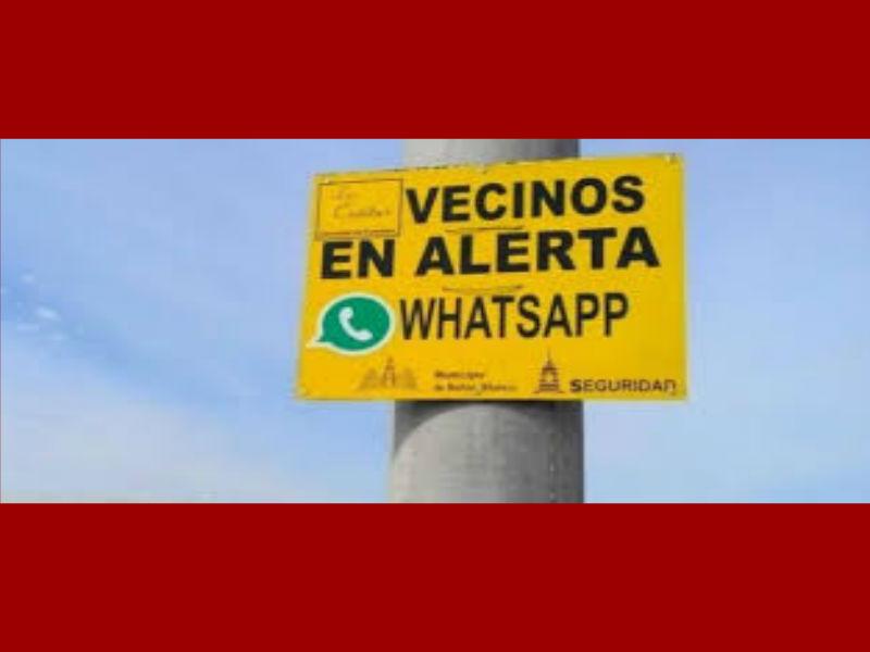 En Tlaquepaque usan el whatsapp como estrategia de seguridad