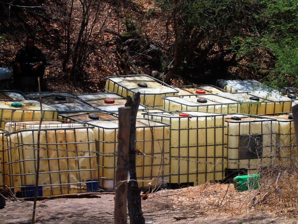 Aseguran siete tomas clandestinas en Tlajomulco y Tala