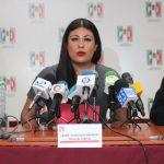 Diputada del PRI denuncia violencia política contra mujeres