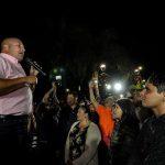 Alfaro visita Chapala y respalda a Moy Anaya