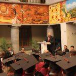 Apadrina Sergio Chávez a los alumnos del COBAEJ