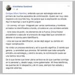 Aristóteles pide a Enrique Alfaro no «victimizarse»