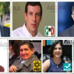 Son siete los candidatos que buscarán ganar la gubernatura de Jalisco