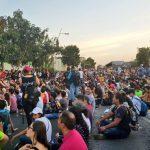 Jóvenes marchan para exigir encuentren a estudiantes de cine desaparecidos