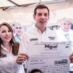 Miguel Castro está a favor de la vida; elude hablar del aborto