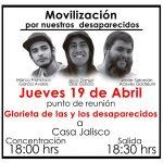 Alumnos del CAAV convocan a marcha por estudiantes desaparecidos en Tonalá