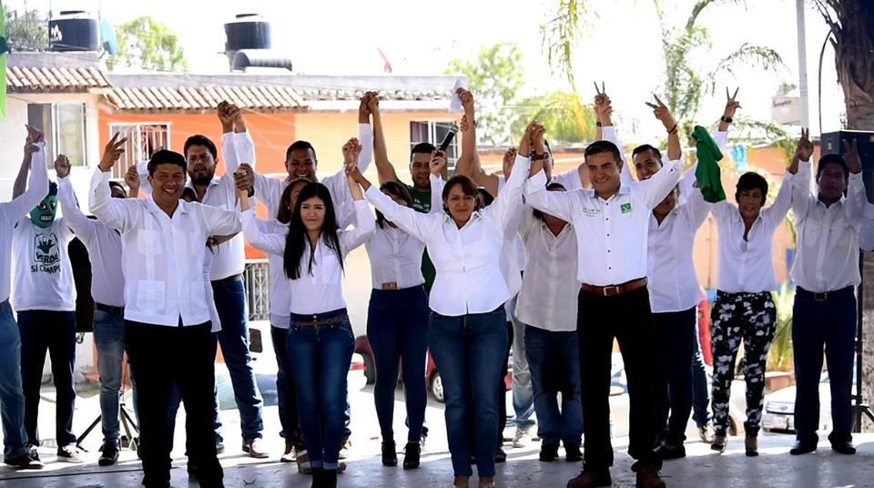 Celia Serrano del PVEM arranca campaña para buscar la Alcaldía de Tonalá