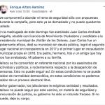 Asesinan a Alcade de MC; Alfaro pide renuncia del Gobernador
