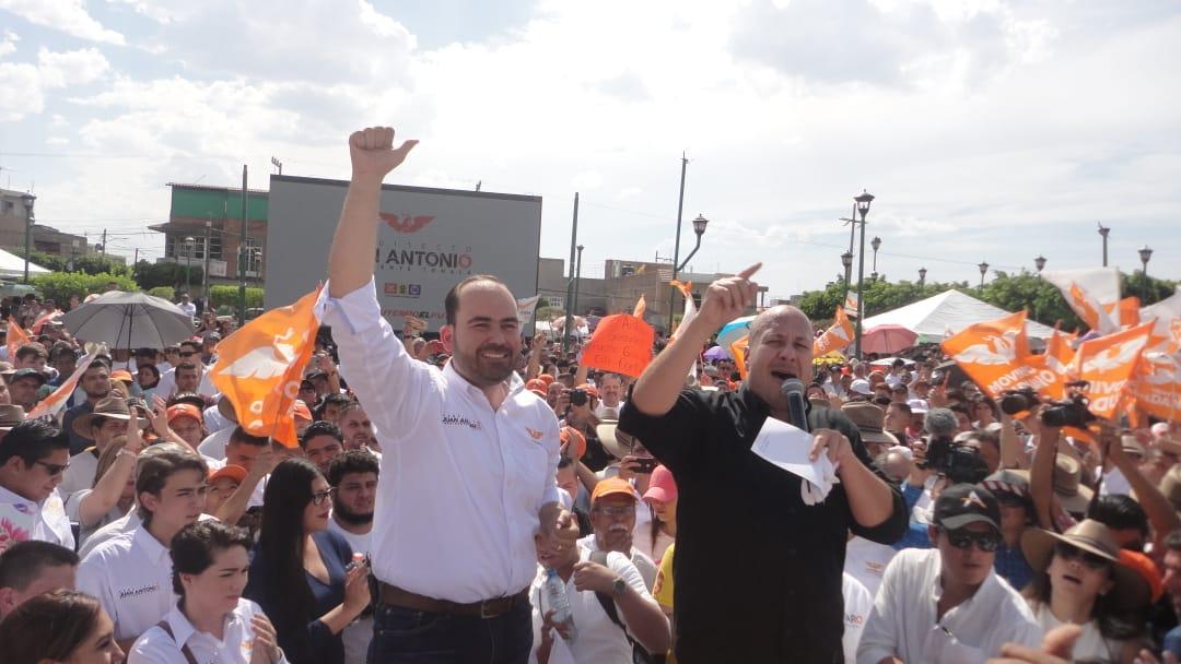 Jun Antonio González, inicia campaña con promesa de construir el Hospital Civil de Oriente en Tonalá