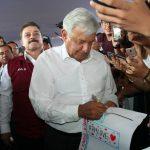 Andrés Manuel López Obrador visita a Tonalá
