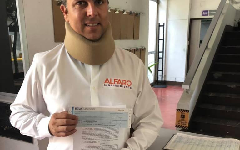 El independiente Alfaro regresa al IEPC el dinero para su campaña