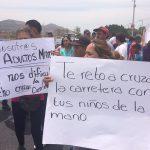 Vecinos de la colonia Pajaritos, exigen puente peatonal