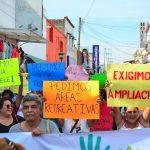 Habitantes de Tonalá se manifiestan para exigir servicios básicos