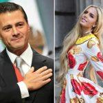 Captan en Madrid a Peña Nieto con modelo