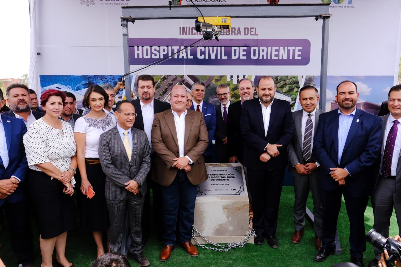 Da inicio la construcción del Hospital Civil en Tonalá