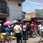 Protestan en contra del SIAPA por desabasto de agua en Tonalá