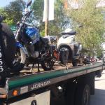Autoridades levantan miles de motocicletas por incumplir reglamento