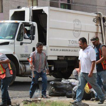 Gobierno de Tonalá saldrá con 51 vehículos municipales a mitigar las afectaciones provocadas por CAABSA