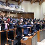 Concluye Parlamento Juvenil… sin diputados presentes
