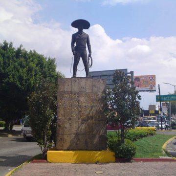 Revelan nueva ubicación de escultura del Charro