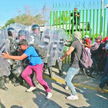 Descarta Ebrard crisis migratoria