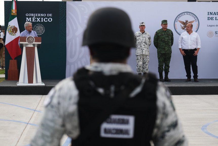 Inauguran instalaciones de la Guardia Nacional en Tepatitlán