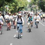 Por obras en Avenida Juárez, reducen carriles en Vía Recreactiva