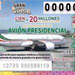 Finalmente anuncian rifa del equivalente al valor del avión presidencial