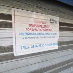Locales aledaños a Paseo Alcalde permanecen cerrados