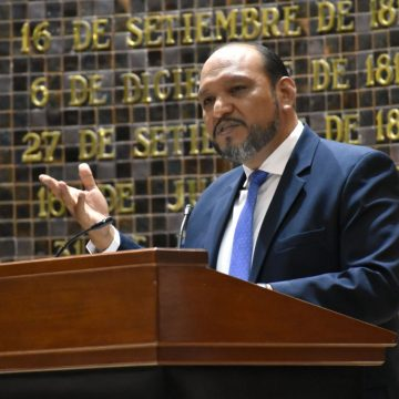 Tensión en informe de CEDHJ en el Congreso