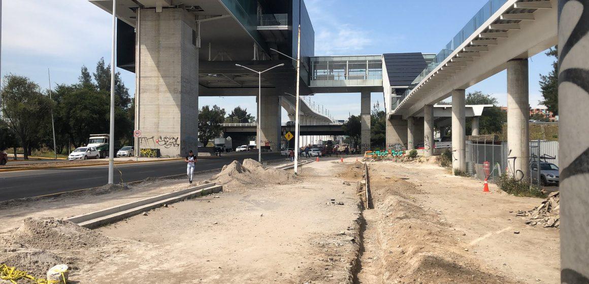 Avanza rehabilitación de entornos urbanos afectados por la L3