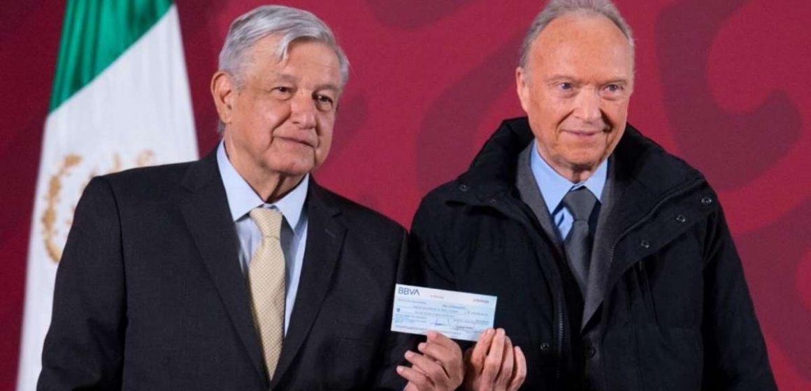 Entrega Gertz Manero 2 mil mdp de lucha contra la corrupción