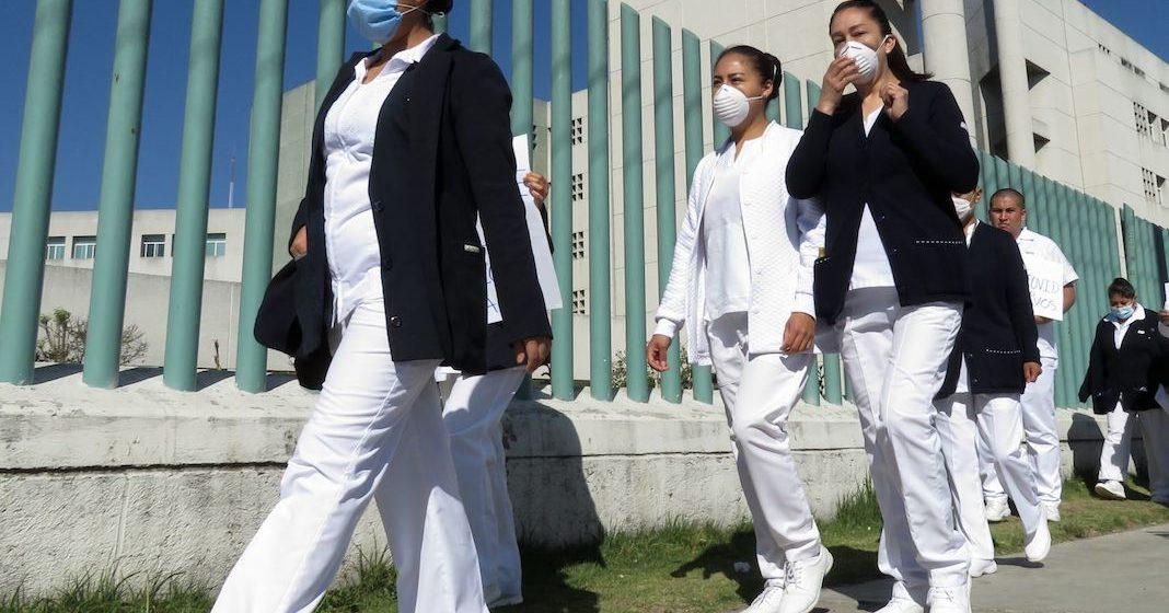 Por creer que tiene Coronavirus, rocían con cloro a enfermera
