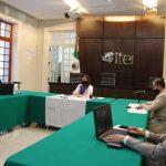 Reactiva actividades el ITEI; resuelve 98 asuntos