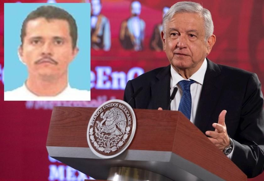 AMLO descarta muerte de Nemesio Oseguera «El Mencho»