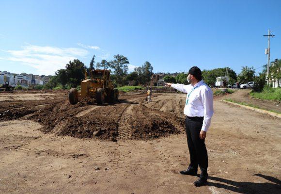 Tonalá va por el rescate y construcción de espacios públicos